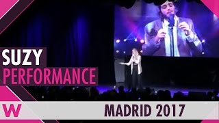 "Suzy ""Amar pelos dois"" (Portugal Eurovision 2017) LIVE @ Eurovision PreParty Spain 2017"