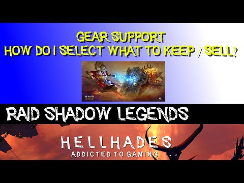 RAID SHADOW LEGENDS | HOW DO I SELECT WHICH GEAR TO KEEP / SELL?