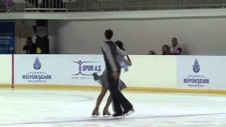 16 S. SFORZA / F. FIORETTI (ITA) - ISU JGP Istanbul 2012 Junior Ice Dance Free Dance