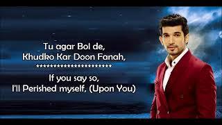 Ishq Mein Mar Jawan  28Title Track 29   OST Colors TV   Lyrical Video With Translati