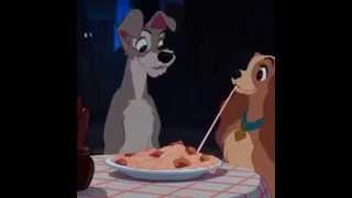Lady and the Tramp IRL reversed