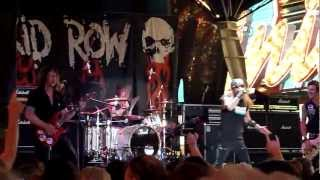 Skid Row-Riot Act-live at the rock of vegas summer concert series july21,2012