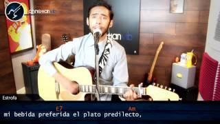 Cama y Mesa ROBERTO CARLOS Acustico Cover TUTORIAL (HD) Christianvib