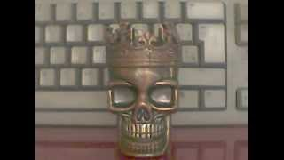 King Skull - Metal Herb Grinder