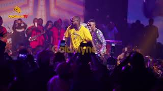 WIZKID AND DAVIDO'S JOINT PERFORMANCE AT THE WIZKID CONCERT