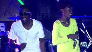 Geosteady and Lydia Jazmine performing SAME WAY live at EDDY KENZO CONCERT 2016