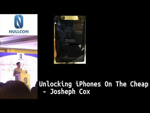 Unlocking iPhones On The Cheap | Joseph Cox