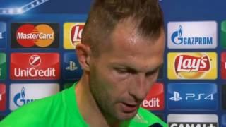 Wkurzony Malarz po meczu Legia - BVB (0-6)