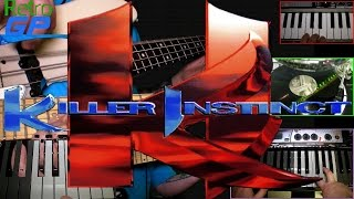 KILLER INSTINCT Title Theme Song MUSIC COVER !!! - Guitar, Bass, Turntable and Keyboards - Retro GP