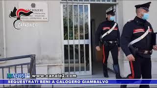 Sequestrati beni a Calogero Giambalvo