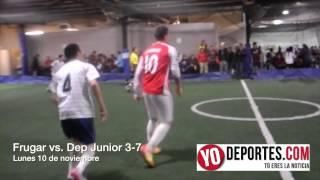 El Frugar cayó ante Deportivo Jr 7-3 en la Liga de los Lunes de Chicago