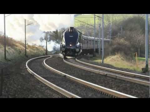 Winter Cumbrian Mountain Express with 60009