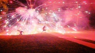 The Columbia Firework Wars (2017 War Footage)