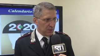 CROTONE: PRESENTATO IL CALENDARIO 2020 DEI CARABINIERI