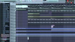 FL Studio Remake: Calvin Harris feat. Example - We'll Be Coming Back + FLP
