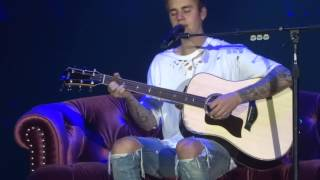 Justin Bieber - Home to Mama - live Birmingham 2016