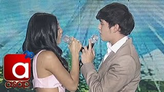 "James, Nadine sing ""Ligaya"" on ASAP"