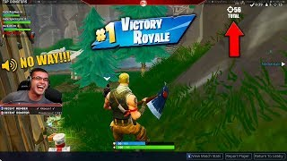 The day we broke the World Record of 56 Kills in 1 match! (Fortnite)