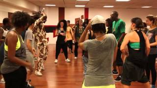 Afrohouse dance class with K Le Kameleon