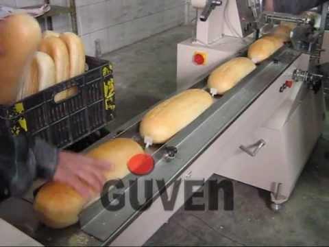 GUVEN Ekmek Paketleme Makinası  Ekmek Ambalajlama Makinesi