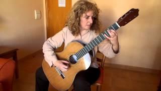 Tema de Lara por María Esther Guzmán. Guitarra Aarón García Ruiz