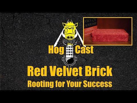 Hog Cast - Red Velvet Brick