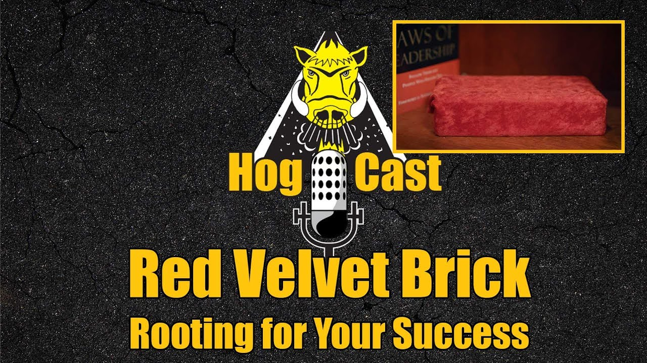 Hog Cast - Red Velvet Brick