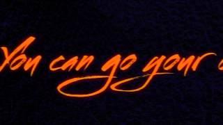 Karl Wolf - Go Your Own Way | Lyric Video
