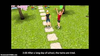 Sims Freeplay- Preteen Routine