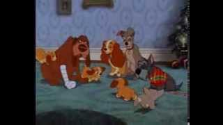 Lady And The Tramp - Last Scene - Christmas Family Together