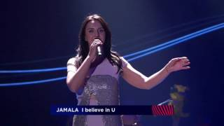Eurovision 2017 - Man Shows his Ass on stage when Jamala Sings.