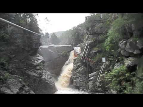 Ziplining at Adventure Falls – South Africa