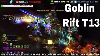 Diablo 3 - Goblins everywhere T13 Rift Season 10 (goblin rift)