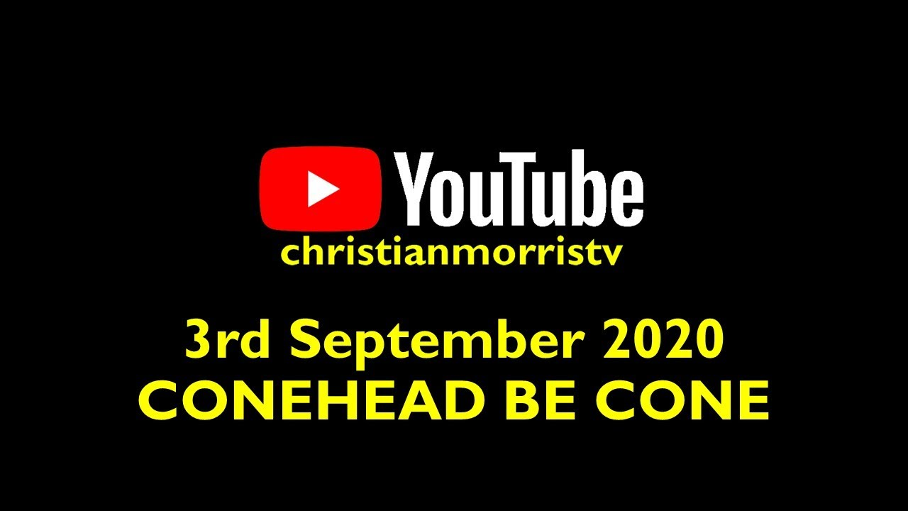 Christian Morris : ConeHead be Cone