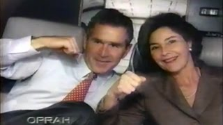 Laura Bush and George W Bush