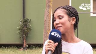 Jhené Aiko On Making 'I Know' Video With Big Sean