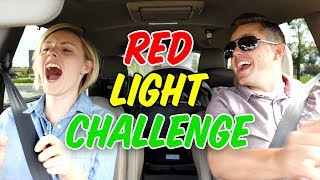 RED LIGHT CHALLENGE! 🚦Ellie And Jared width=