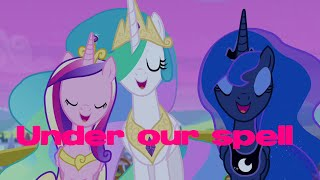 PMV Equestria Girls Rainbow Rocks - Under Our Spell Pony Version 1080ᴴᴰ