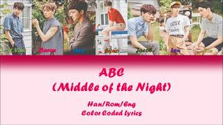 VAV (브이에이브이) - ABC (Middle of the Night) [Han|Rom|Eng Color Coded Lyrics]