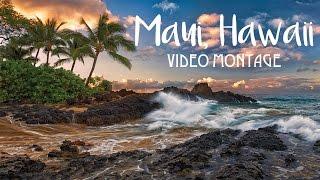Maui Hawaii Montage 2016