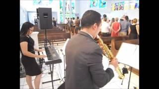 Música: sonda-me (salmo 139)-cover-Adriana-teclado,Rodrigo-saxofone-SP