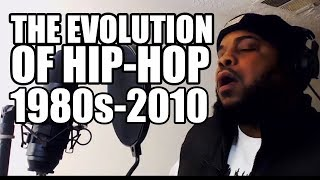 THE EVOLUTION OF HIP HOP