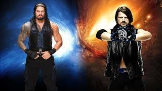 Roman Reigns titantron + AJ Styles theme song