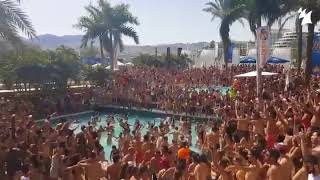Full madness when 'Great Spirit' by Armin van Buuren and Vini Vici hits the pool!