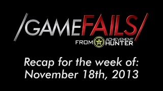Recap for the Week of November 18th, 2013