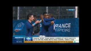 Francia 1-1 Italia Under 21 amichevole -- 28-2-2012 Highlights & Goals HD