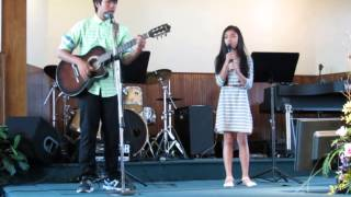 Hold me - cover by Clarisse Surja ft. Shine Surja ( Jamie Grace ft. Toby Mac)