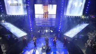 "[HD] Take That feat. Annelouise, Sarah & Babou - The Flood  (Live @ [DK] X-Factor ""Finalen"" 2011)"