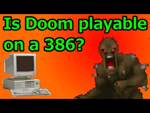 Download Video Is Doom Playable On A 386 DOS PC?