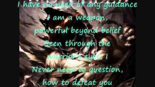 Warrior by Disturbed + lyrics